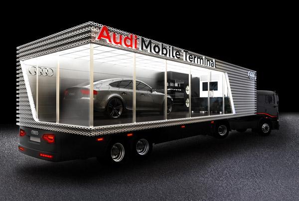 Audi Mobile Trailer